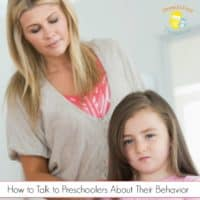 How to Talk to Preschoolers About Their Behavior