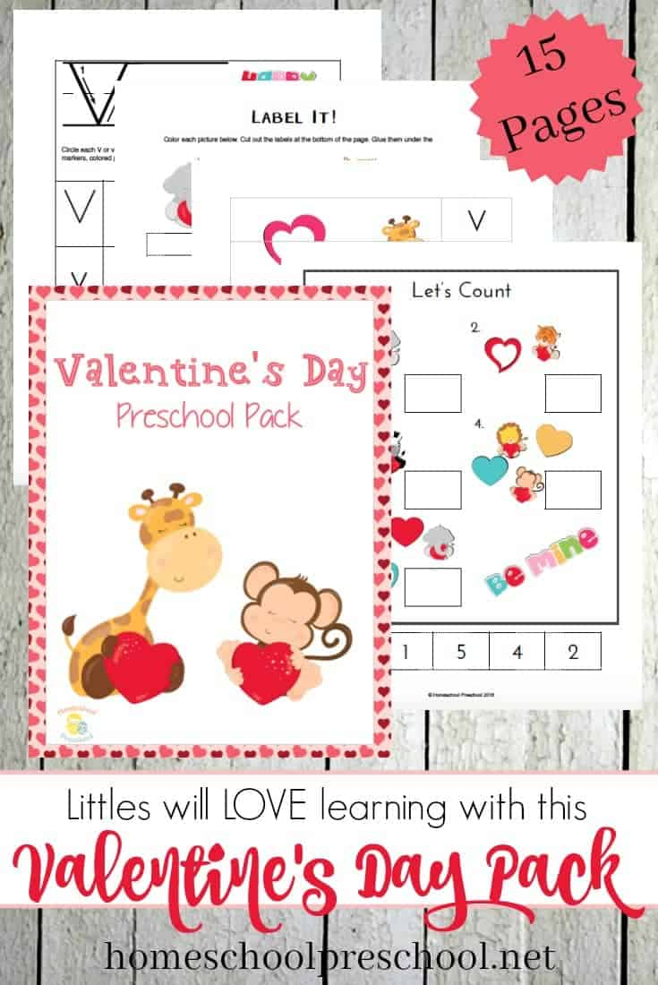 Valentine's Day PreK Pack