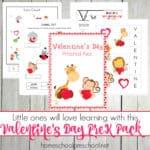 Valentines Day Preschool Printable Pack