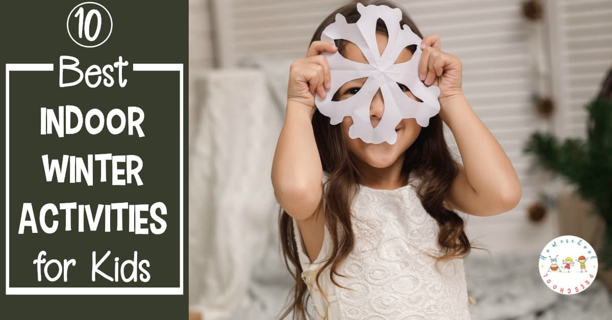 If you are looking for some indoor winter activities for preschoolers, you have to check out this awesome list of ideas! Try something new and fun this year