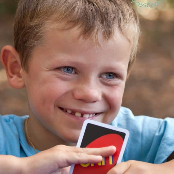 3 Reasons You Should Play Uno with Your Preschoolers