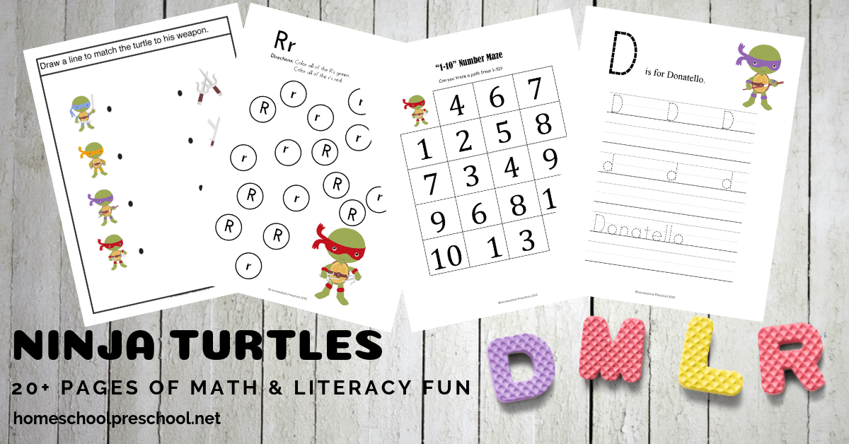 Inside this 30-page ocean theme printable pack, you'll find the following learning activities: