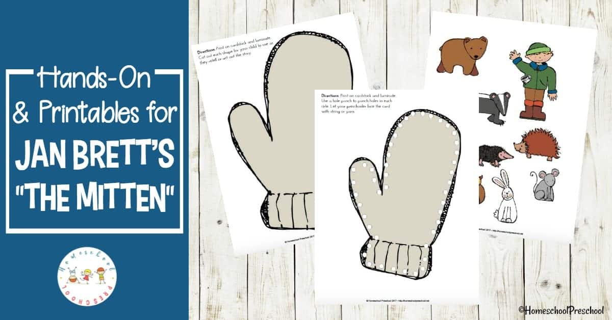 picture about The Mitten Story Printable referred to as Jan Bretts The Mitten Tale Printable and Fingers-Upon Enjoyable