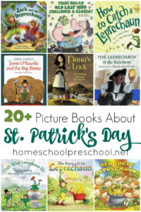 The luck of the Irish will be on your side with this amazing collection of St. Patrick's Day books for kids! | @homeschlprek