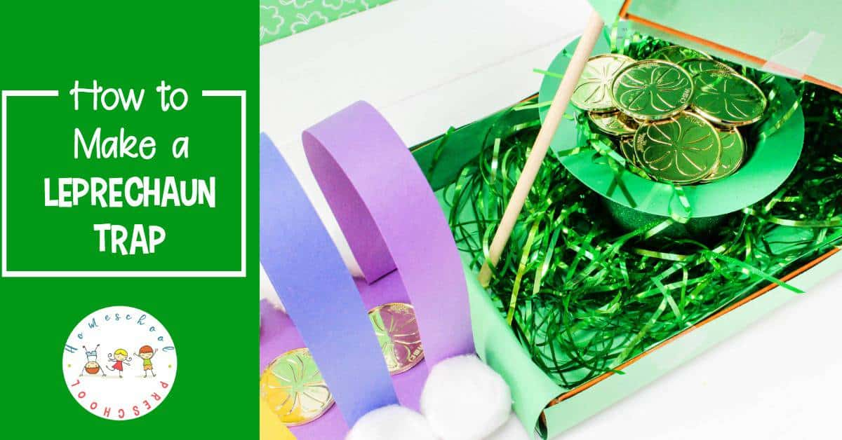 Your kids will have a blast trying to catch a leprechaun this St. Patrick's Day with a leprechaun trap they can build themselves!