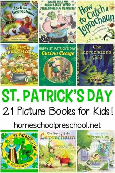 21 of the Best St Patricks Day Books for Kids