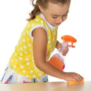 7 Ways Preschoolers Can Help with Spring Cleaning