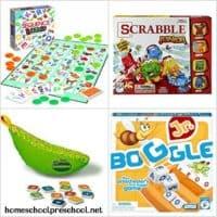 10 Literacy-Focused Preschool Board Games