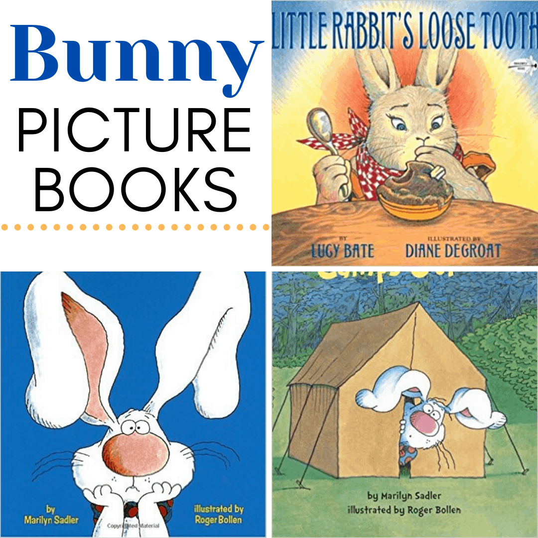 With both spring and Easter just around the corner, it's time to fill your book basket with our favorite children's books about bunnies.