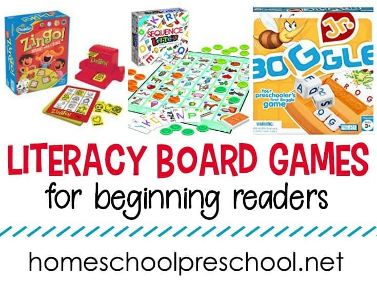 These literacy board games are sure to engage your preschoolers while they practice letter recognition, phonics, and more in a fun way!