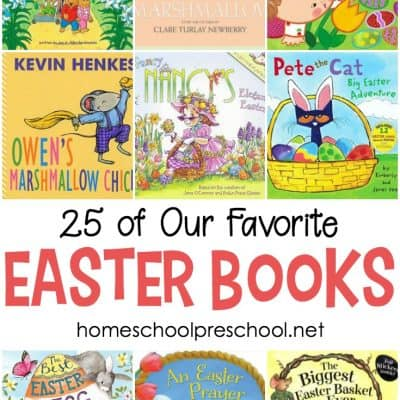 25 of Our Favorite Preschool Easter Books