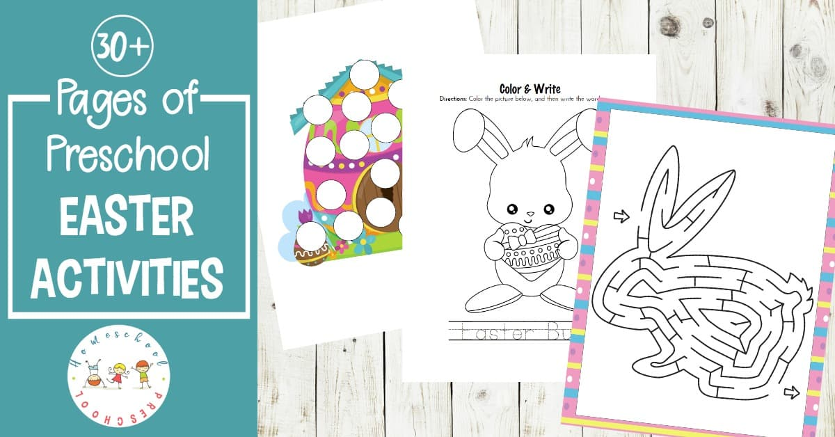 photograph regarding Printable Easter Activities referred to as Printable Easter Routines for Tots and Preschoolers