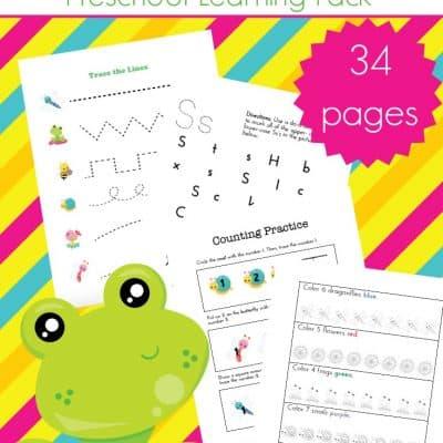 Spring Printables for Preschool and Kindergarten