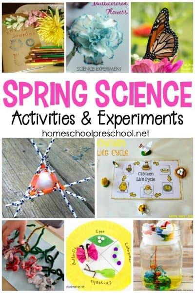 Take advantage of all the new that spring has to offer, and incorporate as many of these spring science experiments for preschoolers as you can!