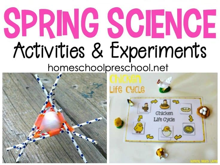 Take advantage of all the new that spring has to offer, and incorporate as many of these springscience experiments for preschoolersas you can!