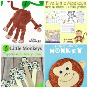 20 Monkey Activities for Preschoolers
