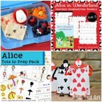 18 Alice in Wonderland Printables and Preschool Activities