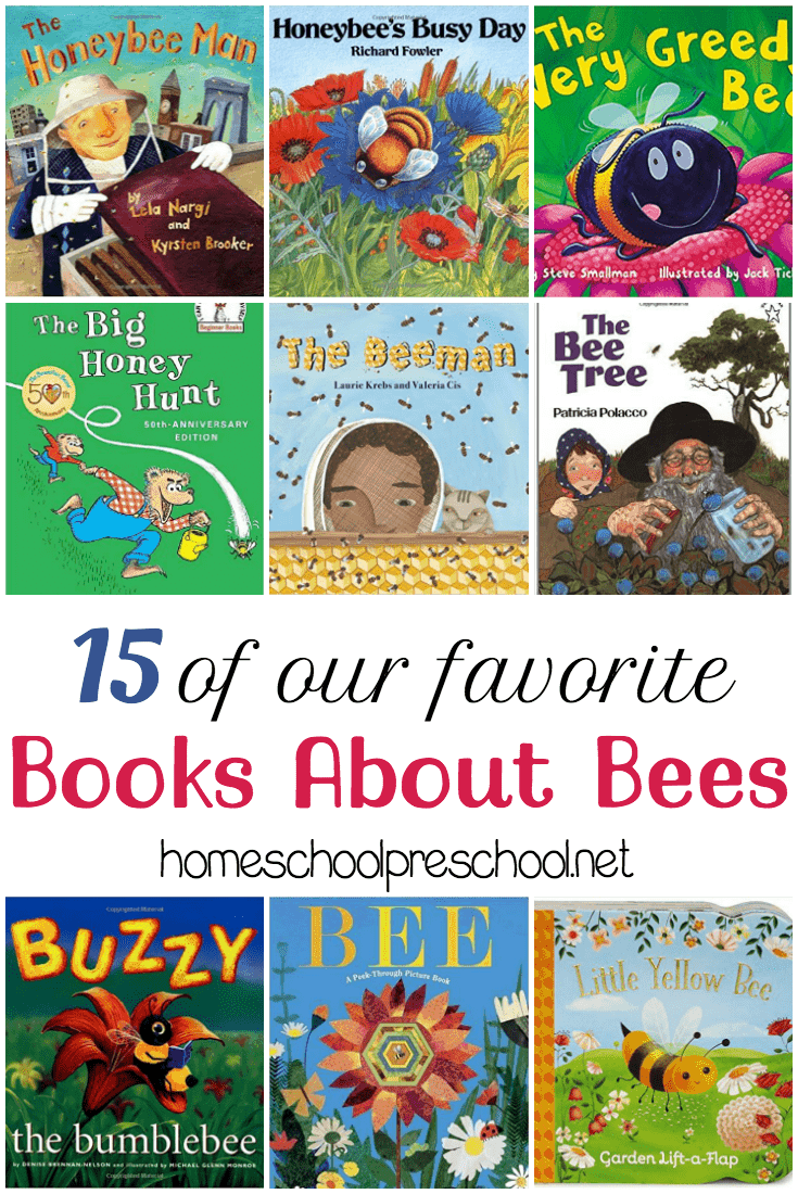 Spring has sprung! Celebrate spring with a basket full of picture books about bees! Here are 15 suggestions to get you started.