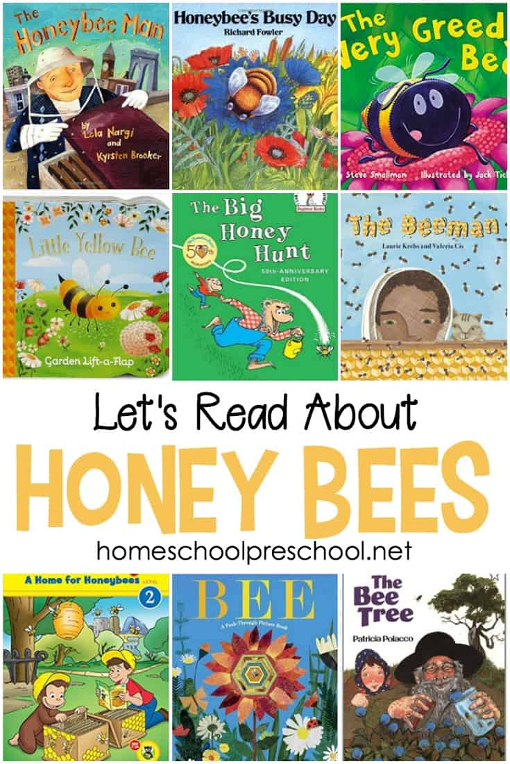 8 Honey Bee-Themed Math Activities for Preschoolers