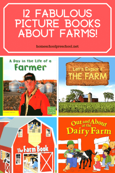 Young animal lovers will enjoy thesepicture books about farms. This collection of fiction and nonfiction books are perfect for preschoolers.