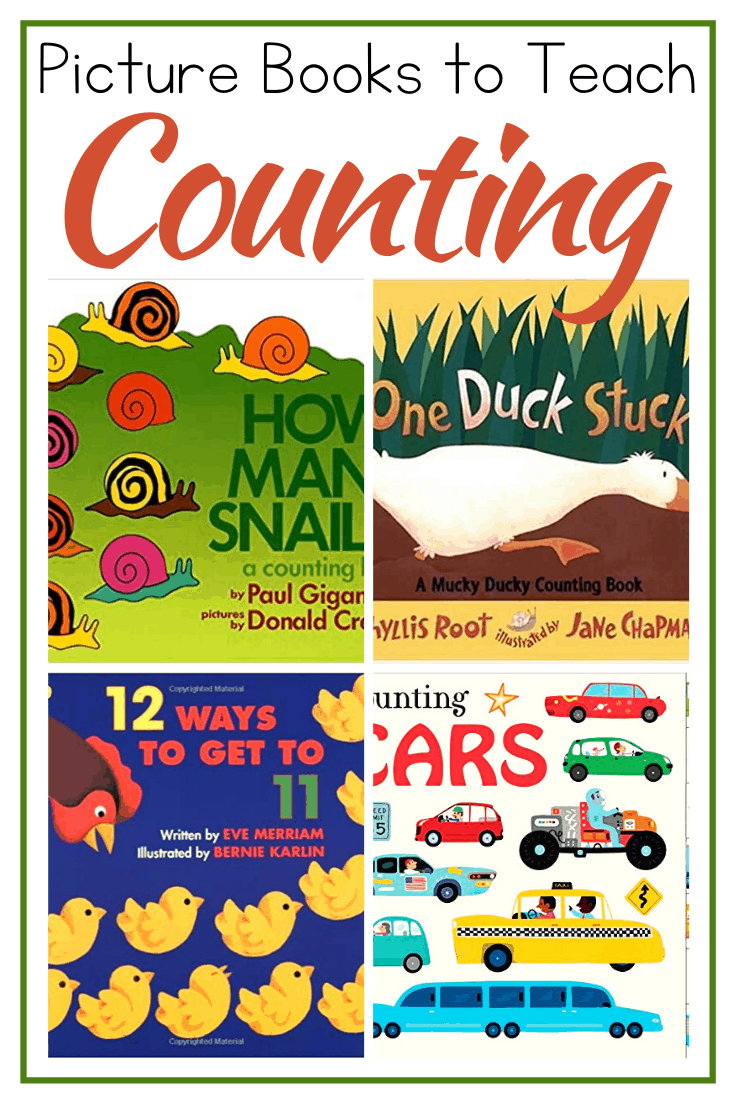 Encourage your little ones to practice counting with these counting books for preschoolers. This is a great way to engage your little ones.