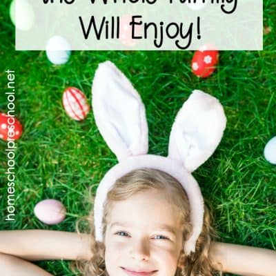 Preschool Easter Activities the Whole Family Will Enjoy