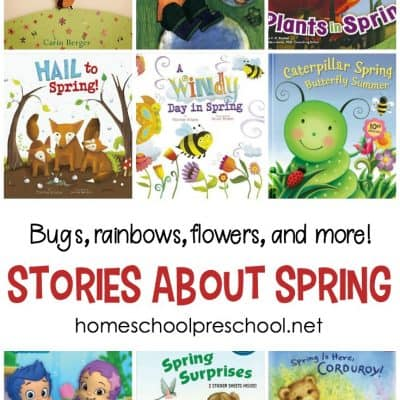 24 of Our Favorite Spring Books for Preschoolers