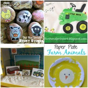 15 Adorable Farm Themed Crafts for Preschoolers