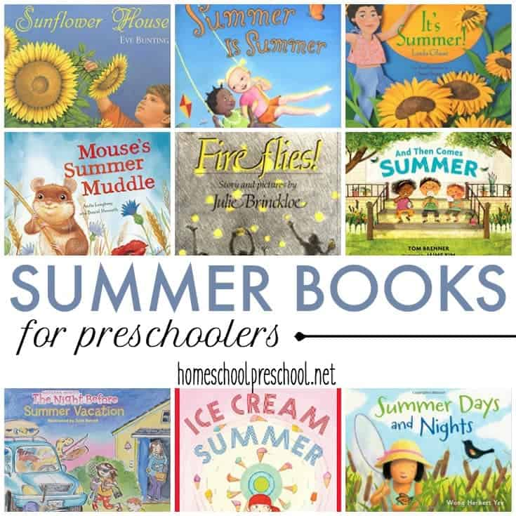 20+ Engaging Summer Books for Preschoolers