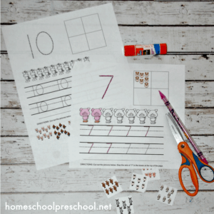 Farm Themed Number Sense Activity Pages