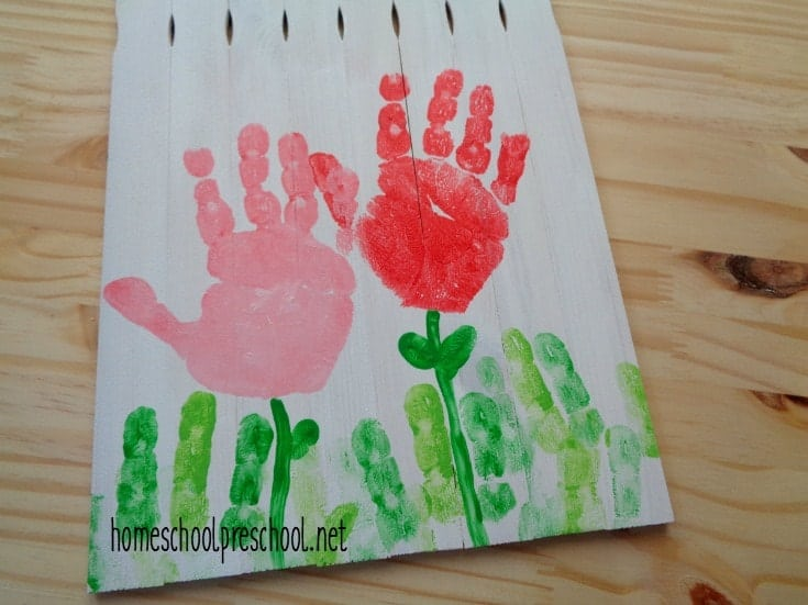 Precious Handprint Mother S Day Craft For Kids To Make