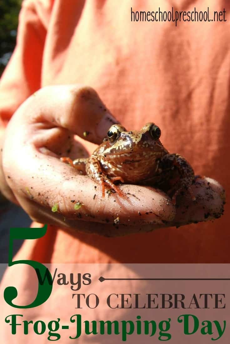 Frog Jumping Day on May 13th is the perfect time to have a bit of fun while teaching your preschoolers about frogs.