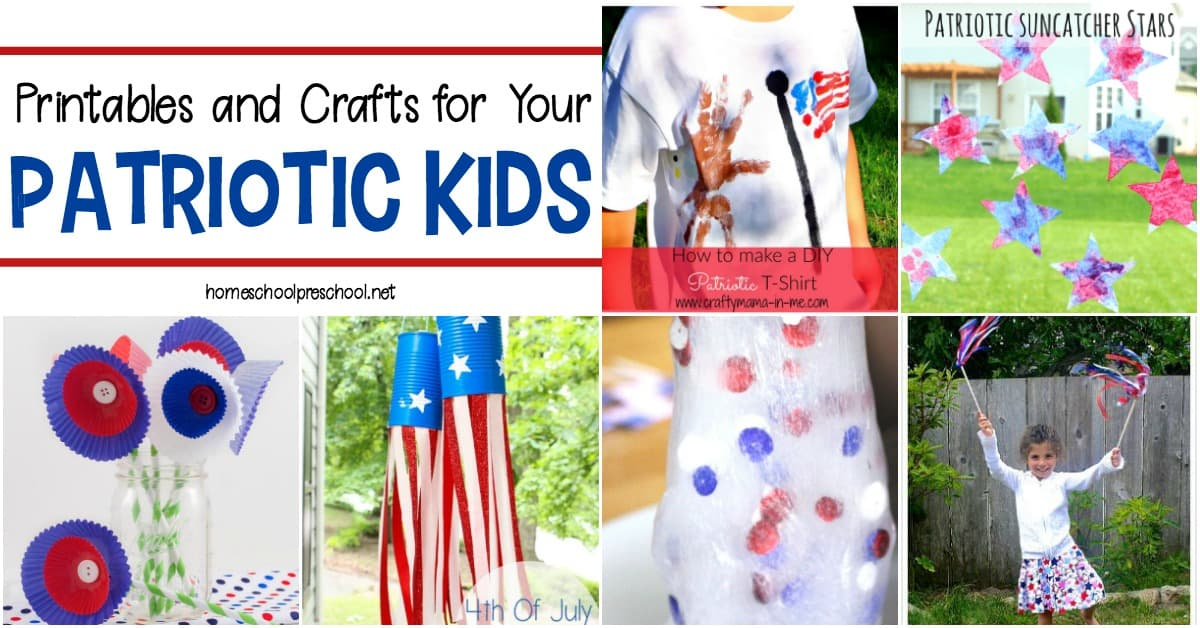 Your little oneswill love learning about and celebrating Memorial Day and Fourth of July with thiscollection of funpatriotic kids activities.