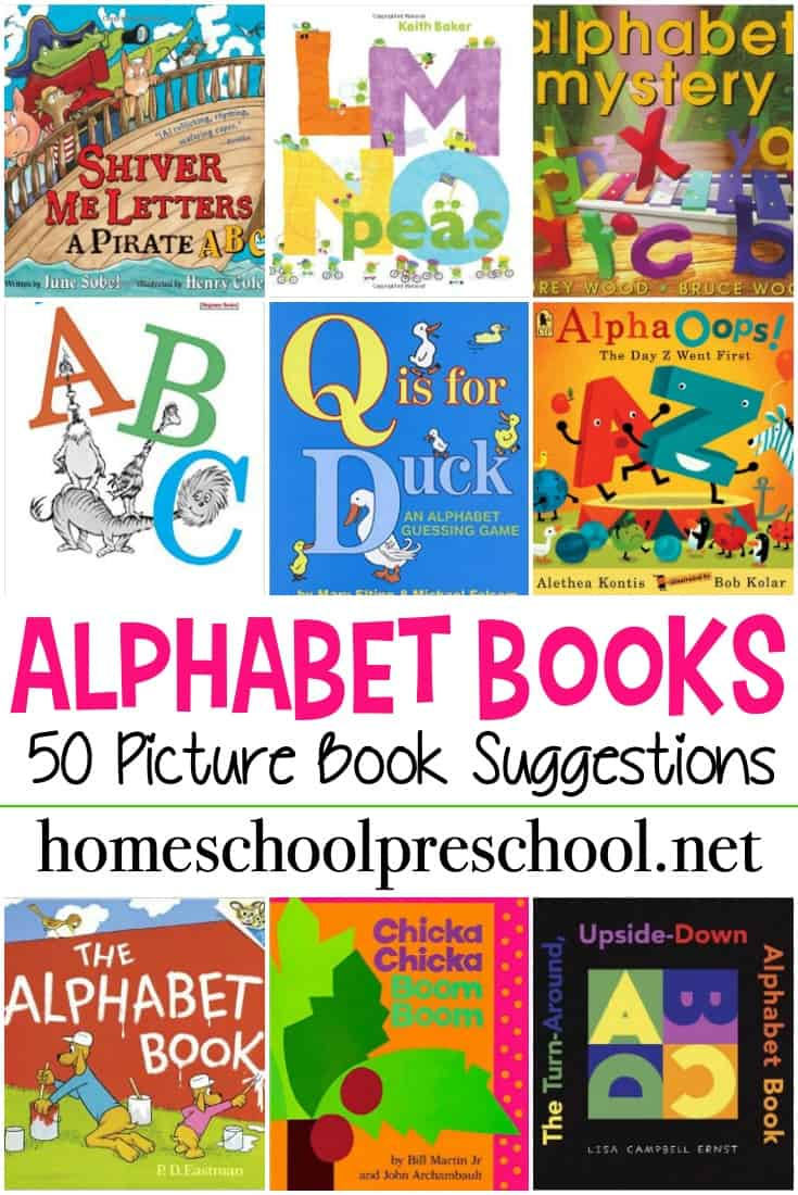 Reading ABC books is a great way to introduce your kids to letters and learning to read. Here is a great collection of alphabet books for preschoolers!