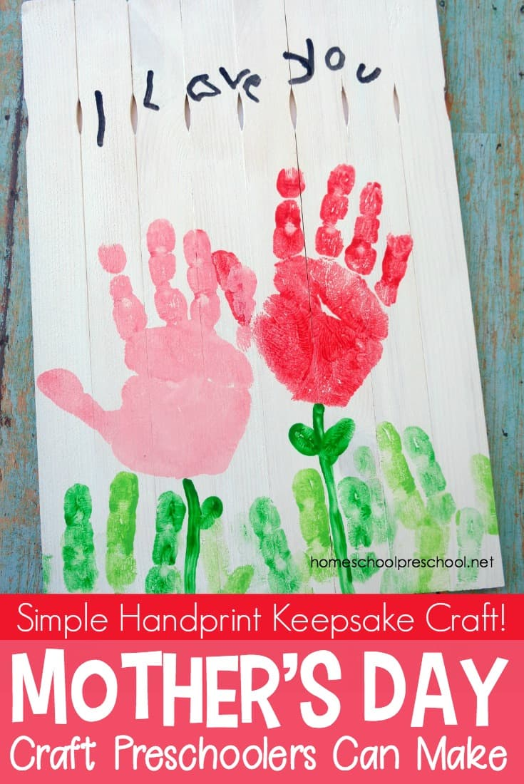 Young kids love making gifts for others. Here's a Mothers Day craft that is sure to become a treasured keepsake for many years to come.