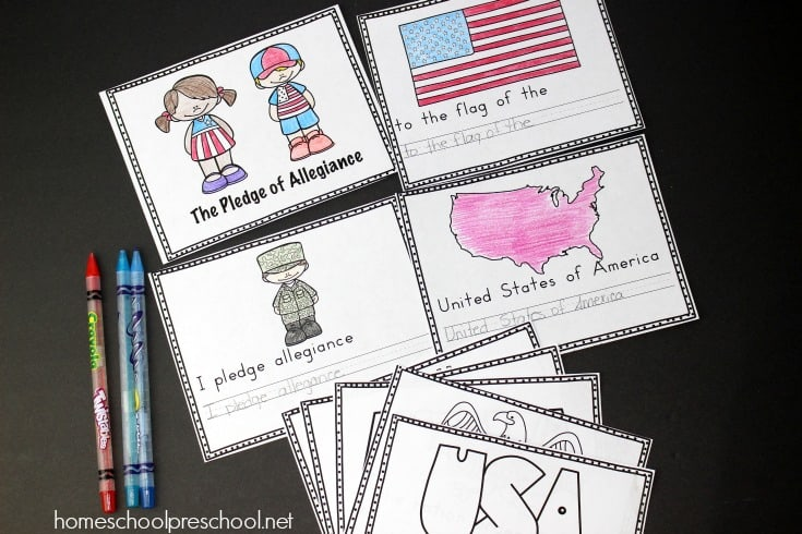 Teach young learners what the Pledge of Allegiance means with this set of free Pledge of Allegiance worksheets! It contains an anchor chart, vocabulary cards, and a mini-book!