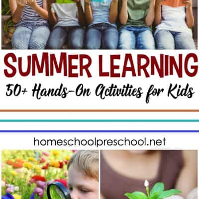More Than 50 Summer Learning Activities for Preschool