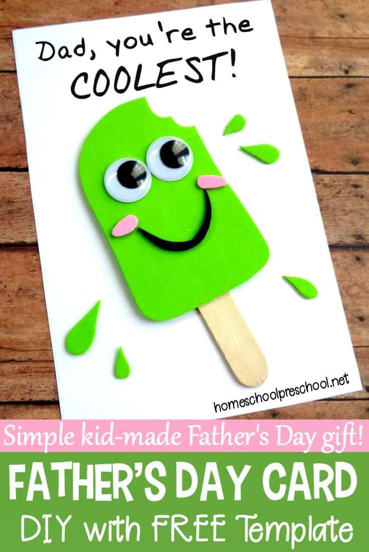 Easy Diy Fathers Day Craft That Your Kids Can Make