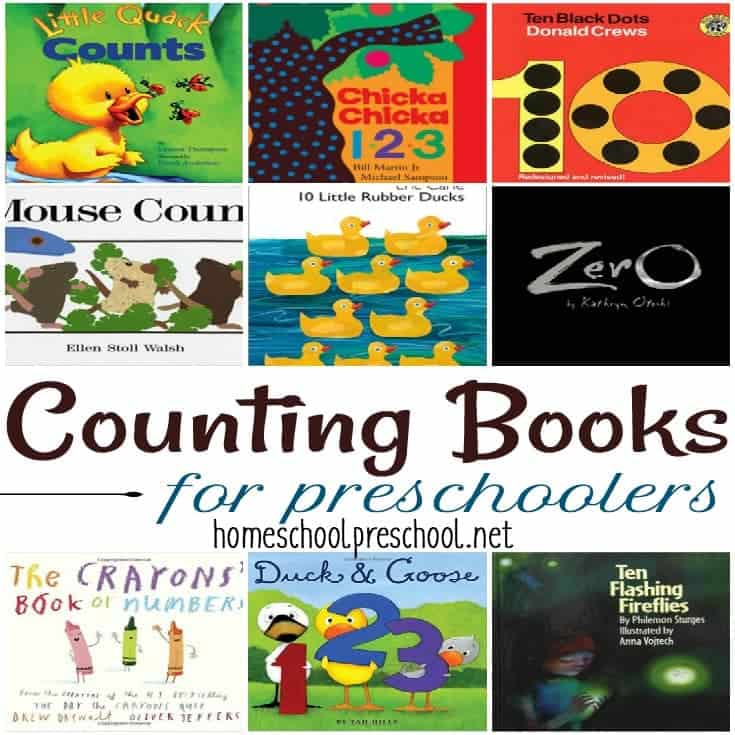 21 of the Best Counting Books for Preschoolers