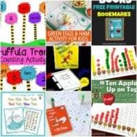 30 Dr. Seuss Preschool Printables