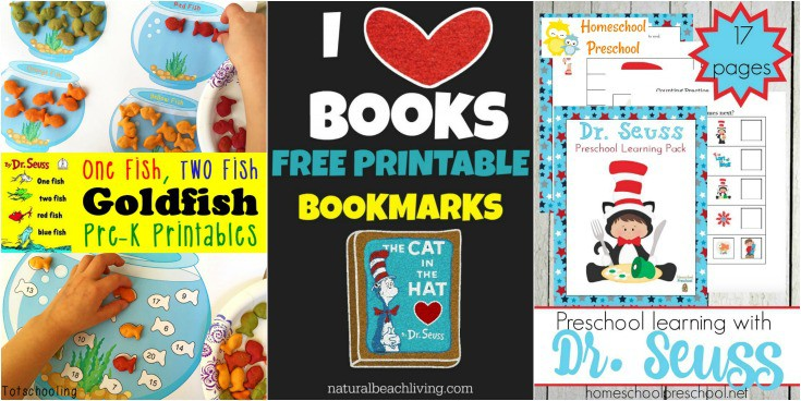 These Dr. Seuss preschool printables are the perfect addition to your homeschool preschool plans! How will you choose which one to do first?