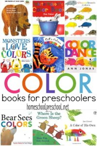 It is so important to read aloud to little ones. This collection of color books is perfect for introducing preschoolers to colors and color words.