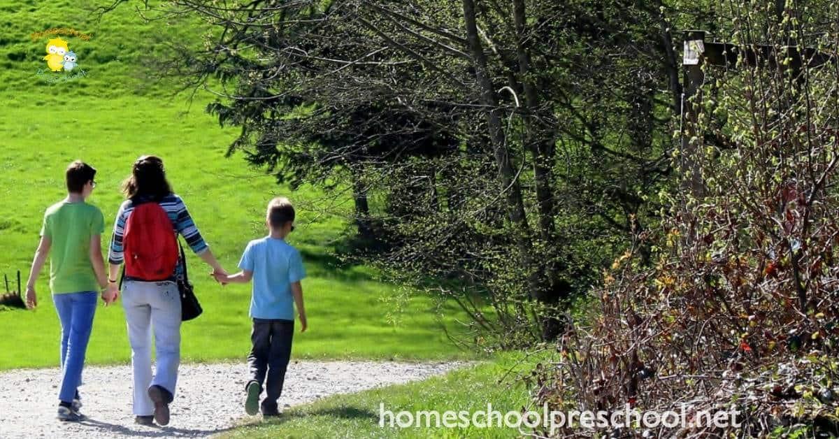 5 Tips To Enjoy Nature Hikes With Preschoolers Homeschool Preschool