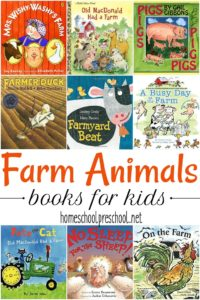 30 awesome farm animal books for preschoolers! These are great for preschoolers and kindergarteners who are learning about animals and life on the farm!