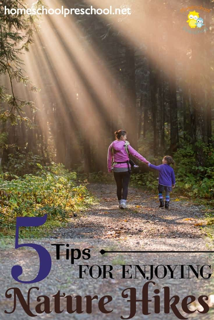 Summer is almost here! It's the perfect time to enjoy nature hikes with your preschoolers. Discover five tips to make them more enjoyable!