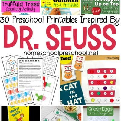 30 Awesome Dr Seuss Preschool Worksheets