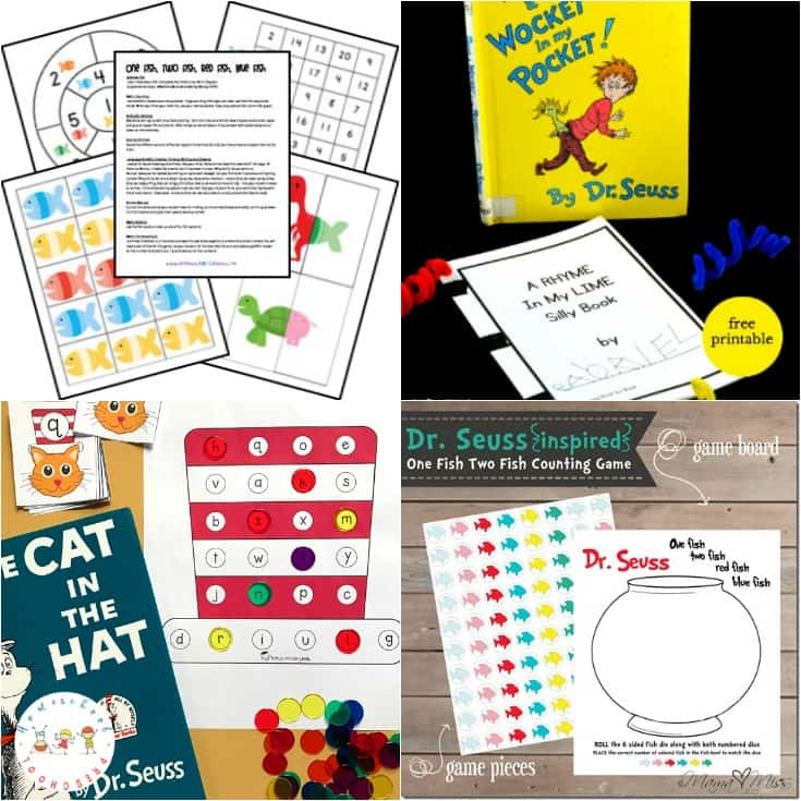 30 Awesome Dr Seuss Preschool Worksheets To Engage Young Learners