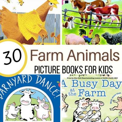 Farm Animal Books for Preschoolers