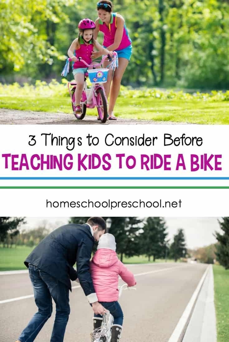 If you think your child is ready to take off the training wheels, here are things you should know about how to teach a kid to ride a bike.