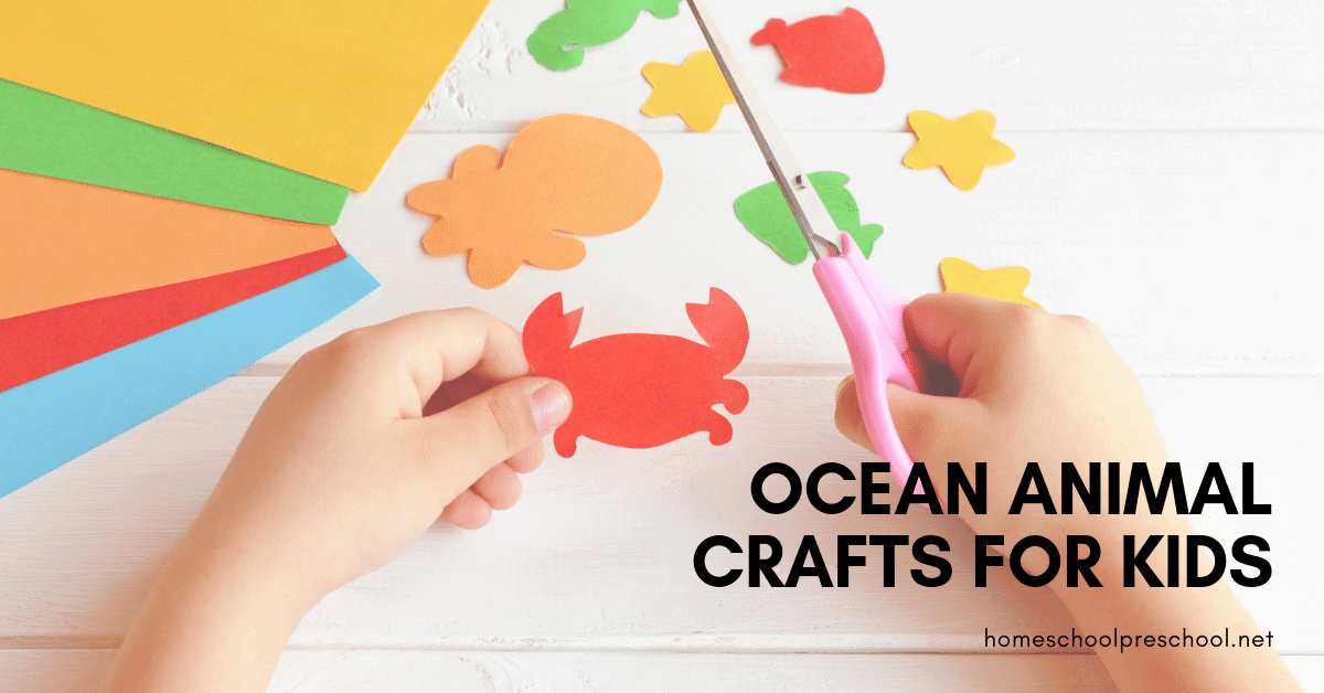 25 Adorable Ocean Animals Crafts For Kids Of All Ages
